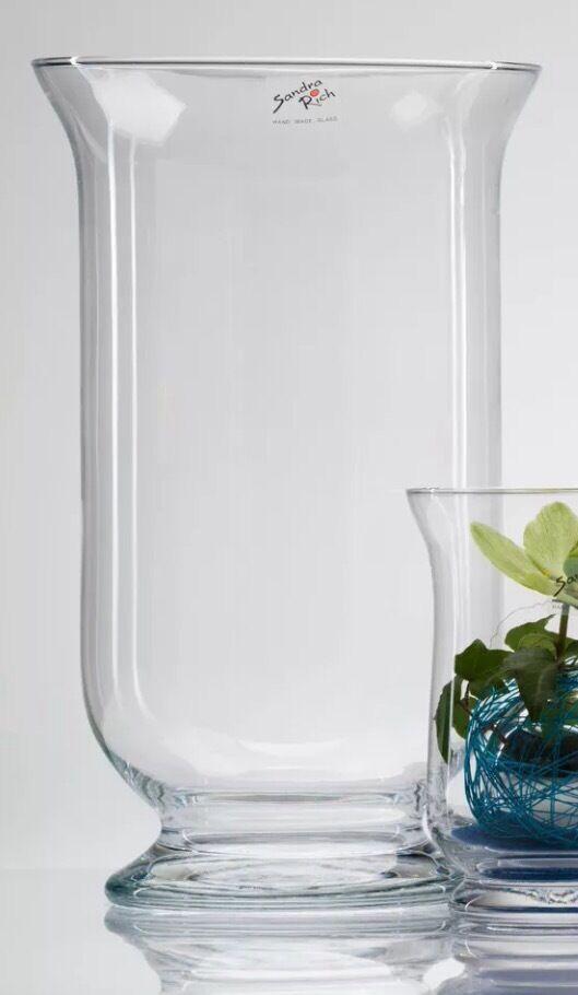 Large Hurricane Glass Vasecandle Holder In Windsor Berkshire