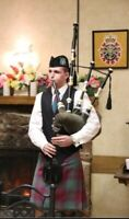 Bagpiper for your event