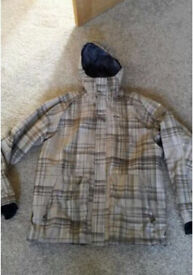 OAKLEY Men's Snowboard Ski Jacket - Cost £165 Medium Baggy Fit - Immaculate Condition