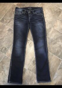 REDUCED, New Condition, Silver Jeans