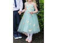 Monsoon Mint Green Dress age 4