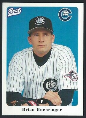 1996 Best Columbus Clippers Minor League Baseball card - Pick your