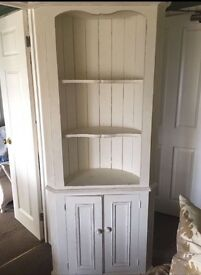French Style/Shabby Chic Corner Display Unit