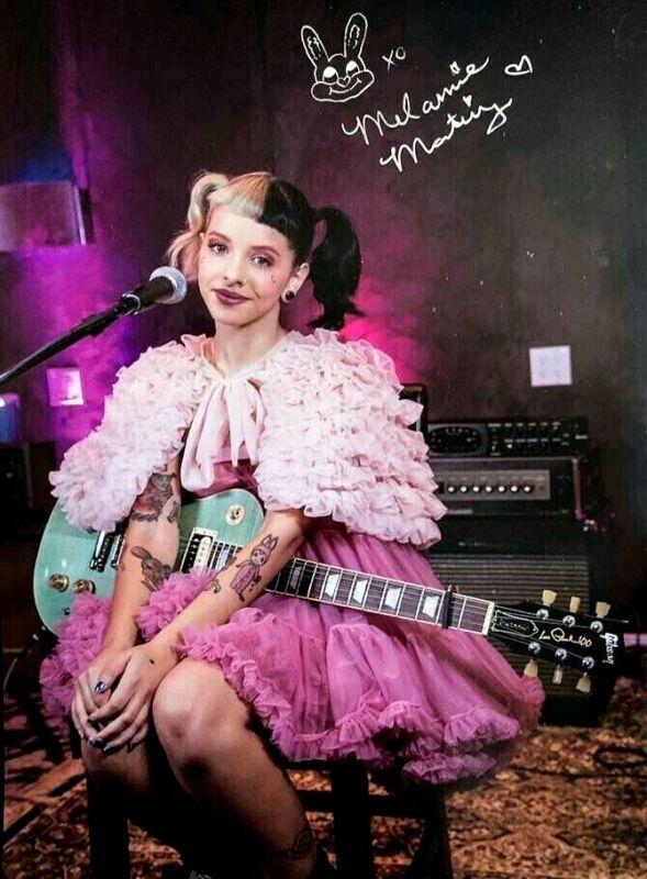 Melanie Martinez 8x11 Photo Autographed Dollhouse