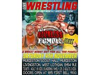 Live Wrestling In Livingston - Family friendly - fears Royal Rumble Match