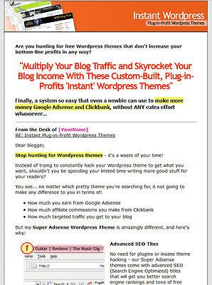 30 Super Adsense Clickbank Wordpress Themes
