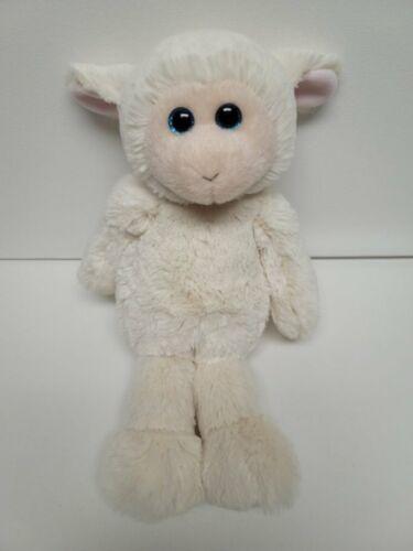 "Ty Attic Treasures Rachel The White Lamb New Rare Medium Size 12"" 30cm"