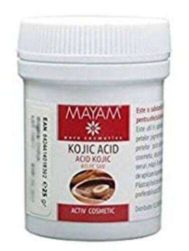 Kojisäure 25g Pulver Kojic acid 25g PuderHautaufhellung Hautaufheller Bleaching