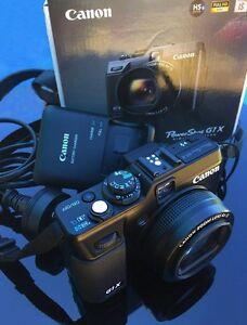 Canon G1X Professional Compact Camera Orange Orange Area Preview