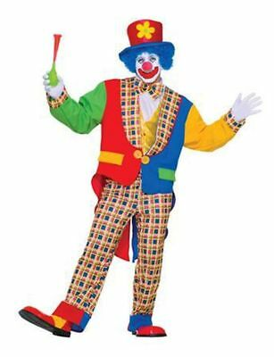 NEW Clown on the Town, Adult Man Costume by Forum Novelties,Blue/Red,One Size ](The Town Costumes)