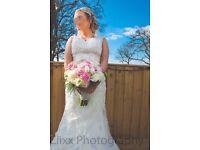 MAGGIE SOTTERO WEDDING DRESS Size 8US (10UK)