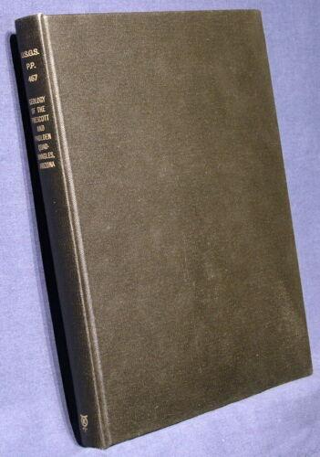 USGS PRESCOTT & PAULDEN ARIZONA QUADRANGLES Geology HARD COVER with MAPS 1965