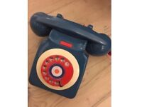 Telephone retro vintage phone dial not iPhone