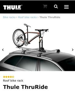 Thule upright bike carrier