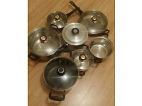7 pieces cookware set