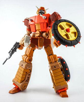 New Transformers KFC toys Eavi Metal MP Crash Hog Wreck-Gar Figure In Stock