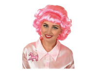 Grease Frenchie Pink Wig