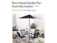 Tesco garden furniture set, 5 piece
