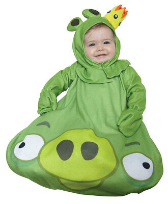 NEW Baby Infant King Pig from Angry Birds Halloween Costume 0 to 9 months
