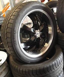 """20"""" Advanti Sabotage Alloys With Tyres To Suit Most 4WD's Toowoomba Toowoomba City Preview"""