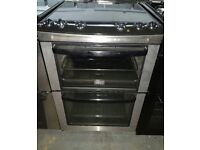 ZANUSSI STAINLESS STEEL FREE STANDING 60cm ELECTRIC COOKER,4 MONTHS WARRANTY
