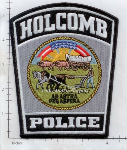 Kansas - Holcomb KS Police Dept Patch