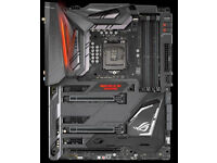 ASUS ROG Maximus IX Code Z270 Motherboard with an i7 7700K CPU