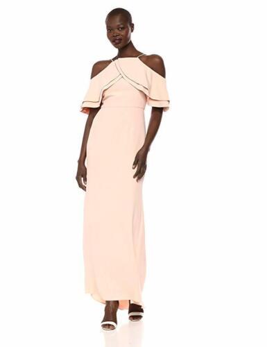 Eliza J Womens Formal One Shoulder Ruffled Evening Dress Gown BHFO 3209