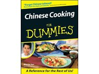 CHINESE COOKING for DUMMIES, Reference Guide, FREE e-tips online, PDF DIGITAL BOOK