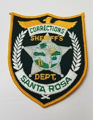 FLORIDA, SANTA ROSA CORRECTIONS SHERIFF'S DEPT PATCH