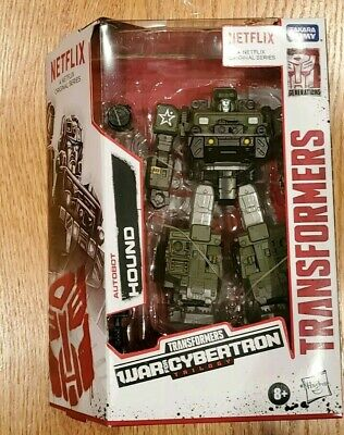 TRANSFORMERS HOUND NETFLIX WAR FOR CYBERTRON (NEW IN HAND)