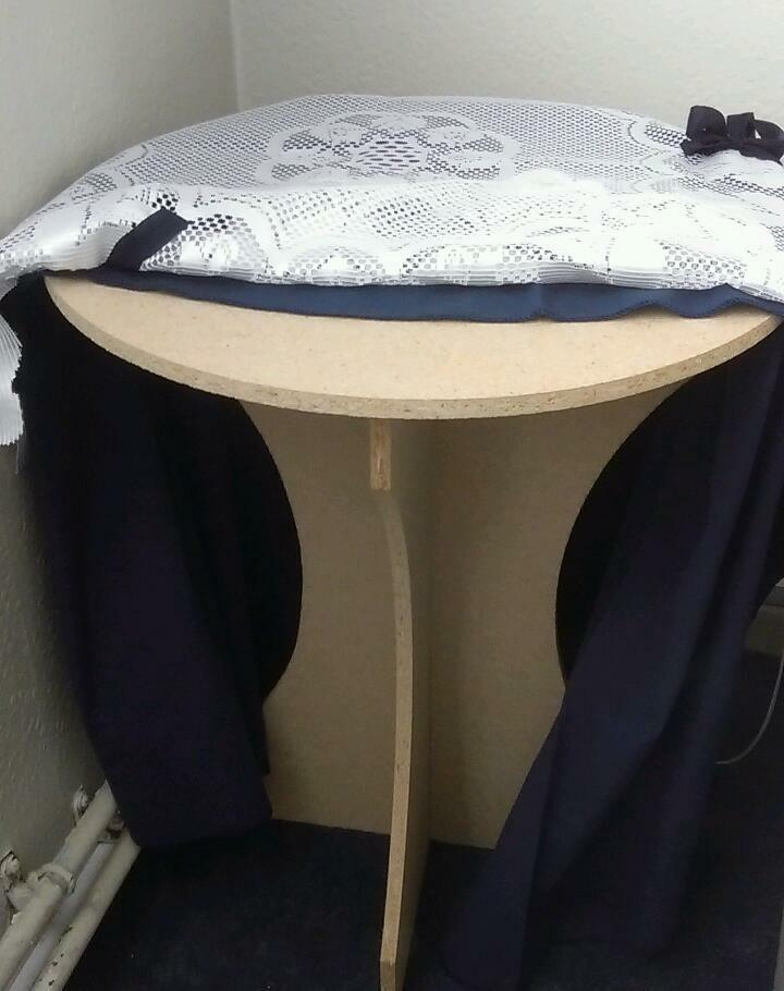 Side Table With Tablecloths In Southville Bristol Gumtree