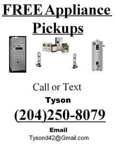 Free Appliance Pick Up!!