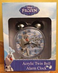 Disney Frozen Olaf's Quest Alarm Desk clock ~NEW