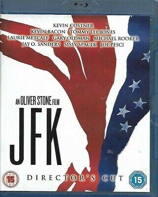 JFK:Kevin Costner,Kevin Bacon,Tommy Lee Jones,Sissy Spacek (Blu-ray, 2013)
