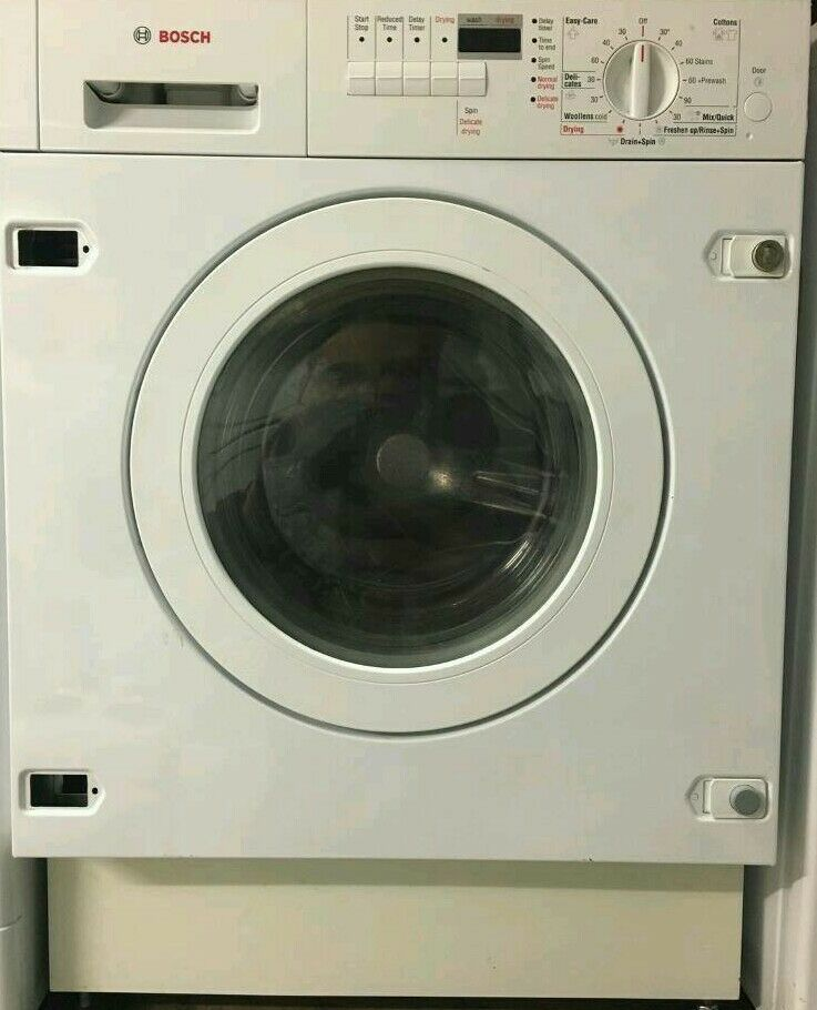 Bosch washer dryer built in appliance
