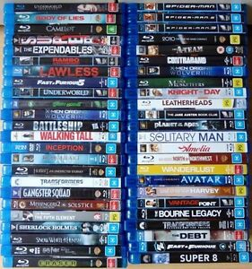Blu-Ray Movies for sale (50 Blu-Rays for $150) Browns Plains Logan Area Preview