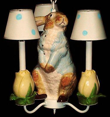 -  Nursery Chandelier Child Light  Peter Rabbit