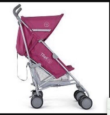 Mamas Papas Trek Umbrella Stroller Pushchair Buggy Pram Raspberry Blueberry NIB