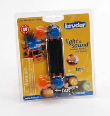 "BRUDER® 02801 "" Zubehör: Light and Sound Modul (trucks) "", NEU & OVP"