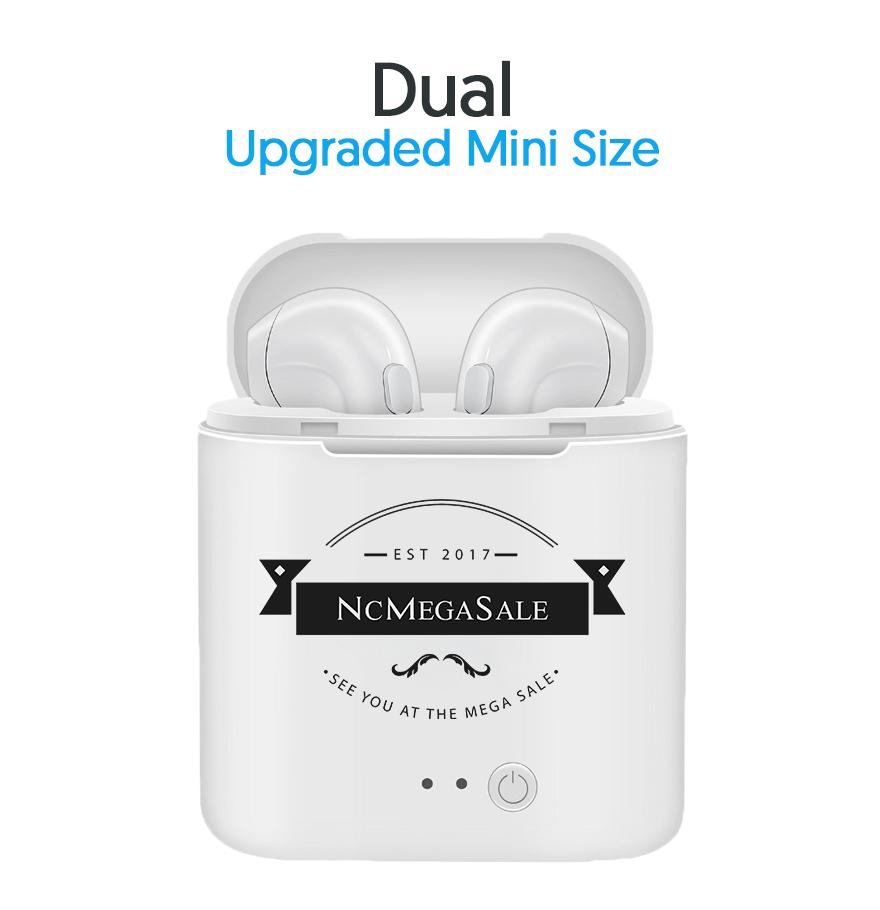 Wireless Bluetooth Earbuds In Ear Headphone Sport Stereo Headset