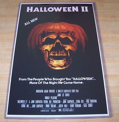 Halloween II 2 11X17 Movie Poster Michael Myers Original Version