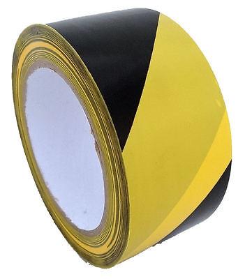 36xRollen 33Mx50mm PVC Klebeband Signalband Warnband Markierungsband 1 Karton