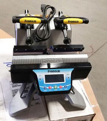 Used 110v Sublimation Printing 11oz Double Station Mug Heat Press Machine Us