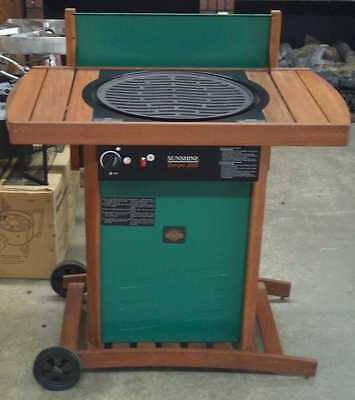 Sunshine Europa Propane Gas Grill, with Cast Iron Burner