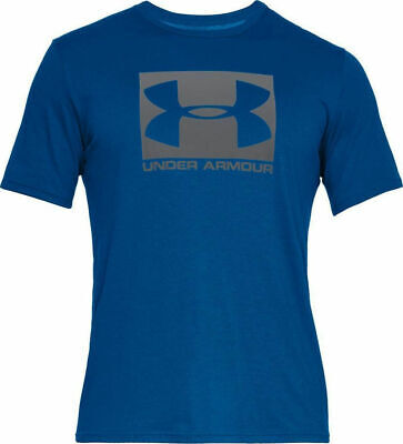 Under Armour Mens Sportstyle T Shirt Blue Training Gym Tee Top Size S,M,L,XL,XXL