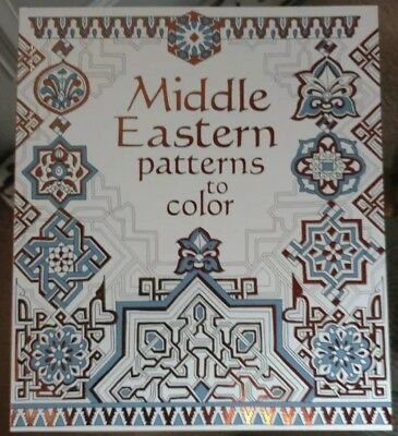 Middle Eastern Patterns to Color, Paperback by Reid, Struan usborne books