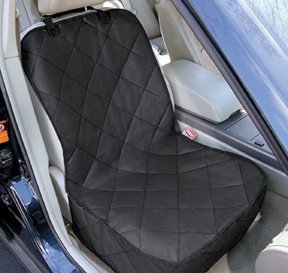 Pet Front Seat Cover for Cars – Black, WaterProof & Nonslip Backing Protector Car & Truck Parts