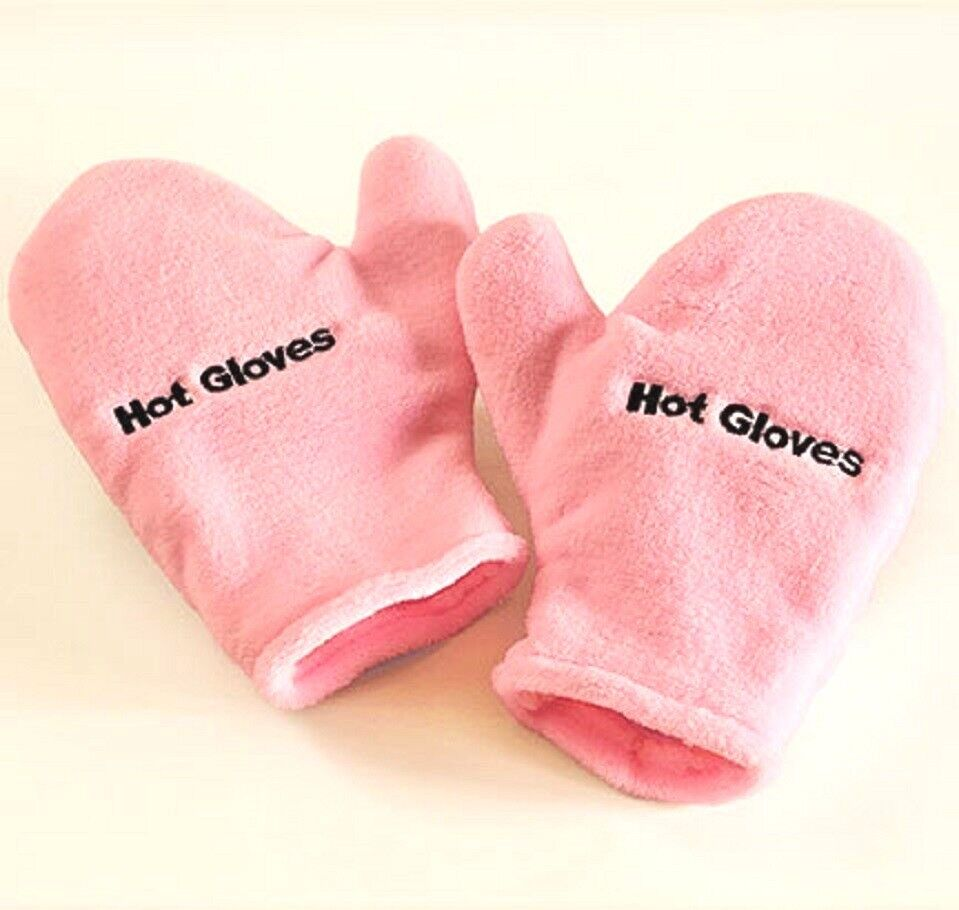 Microwave Therapeutic Hot/Cold Gloves Pink Warm Ease Inflammation Swelling NEW Clothing, Shoes & Accessories