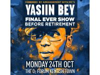 3 x Yasiin Bey / Mos Def Stalls Tickets - O2 Forum Kentish Town- 27th Jan (Want to SWAP for 26th)